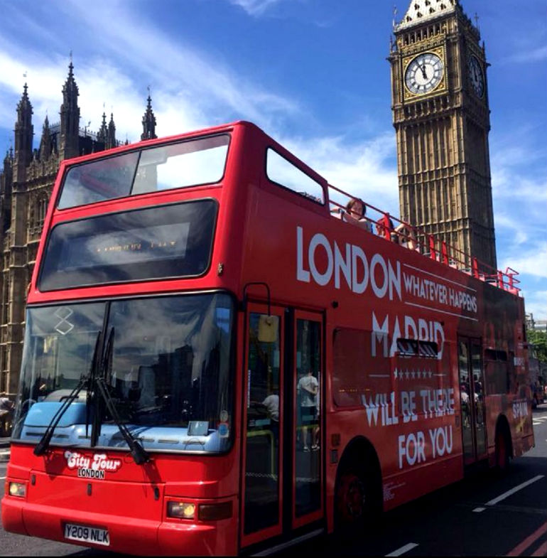 autobus madrid londres
