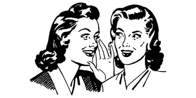 Comunicación informal: son rumores, son rumores