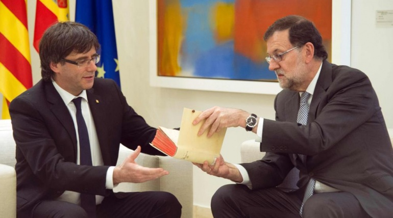 Cartas de desamor entre Rajoy y Puigdemont