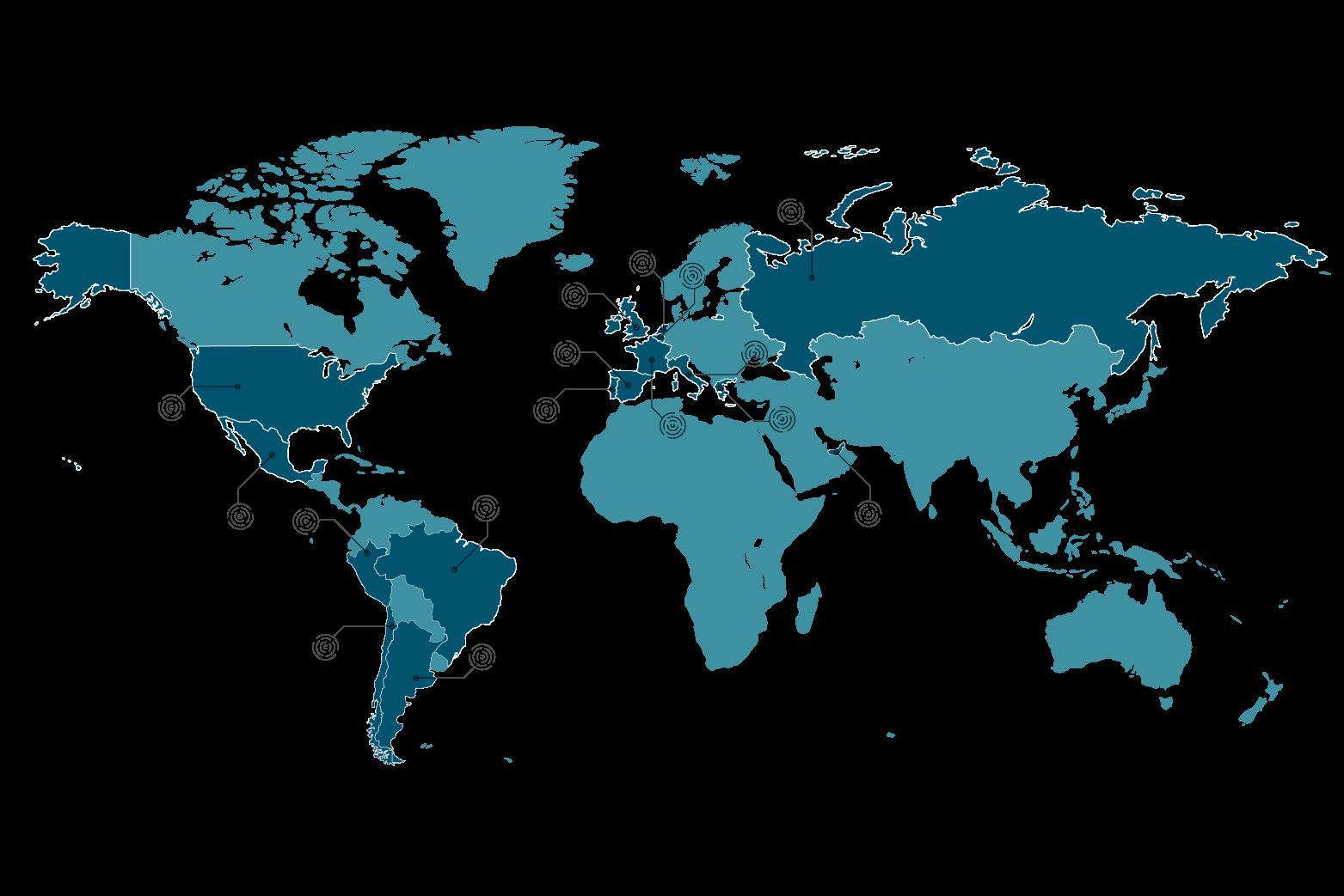 Colaboradores internacionales de Dédalo Comunicación