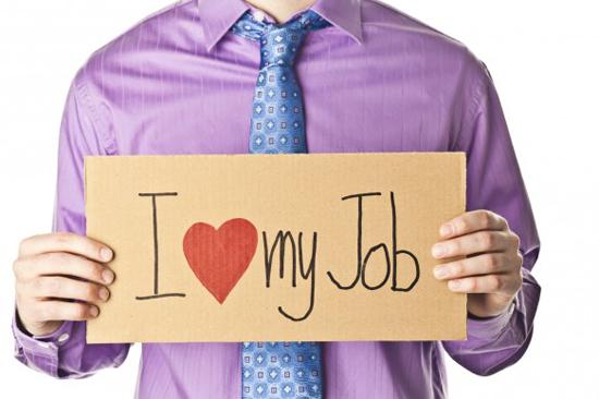 trabajador feliz empleado productivo